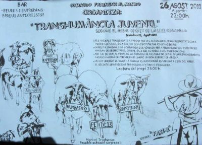 Neighborhood Tour 2011 - Transhumància Juvenil