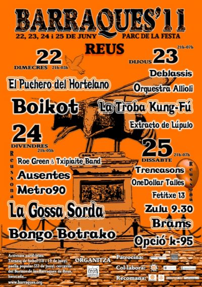 Neighborhood Tour 2011 - Barraques de Reus