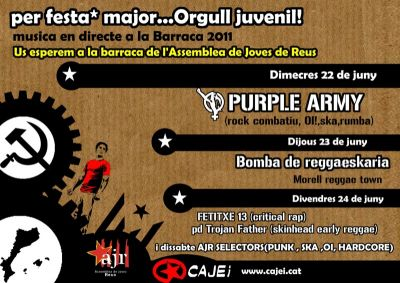 Per festa major... Orgull juvenil!